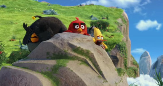 Urine Luck, Kids: The Official 'Angry Birds' Trailer Is Here