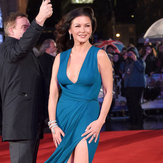 Catherine Zeta-Jones Dad's Army Premiere Dress