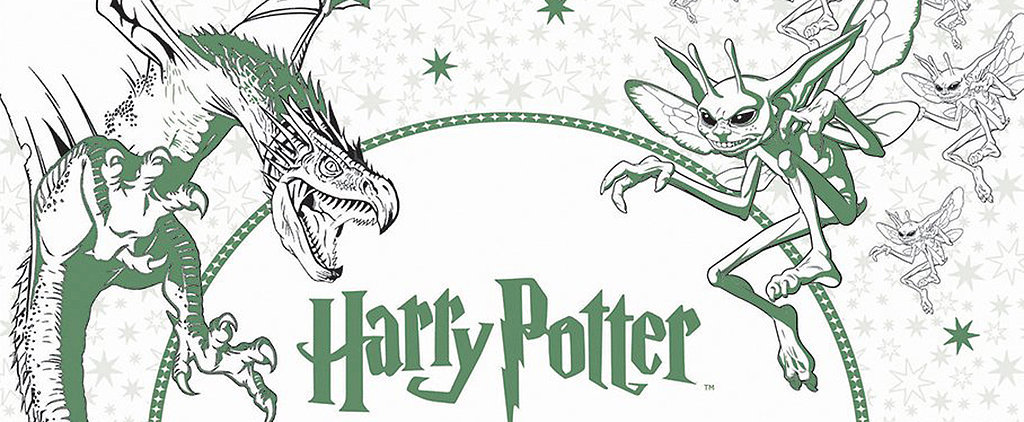 Harry Potter Fans, You Need This New Coloring Book in Your Life ASAP