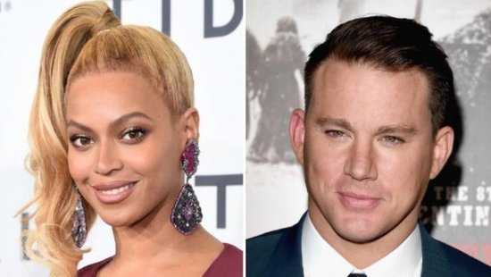 Here's What Beyonce Texted Channing Tatum After Their Lip Sync Battle