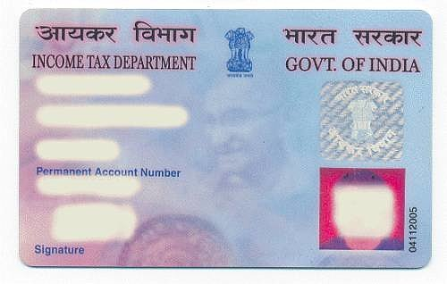 pan card corrected
