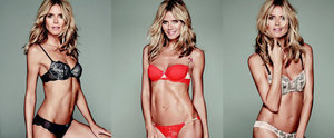 Heidi Klum on the Perfect Lingerie and Makeup For Valentine's Day
