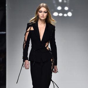 Gigi Hadid Wearing Versace in Zayn Malik's Pillowtalk Video