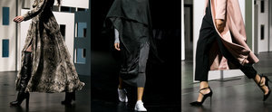 Witchery's Runway Left Us Wishing For Winter Weather