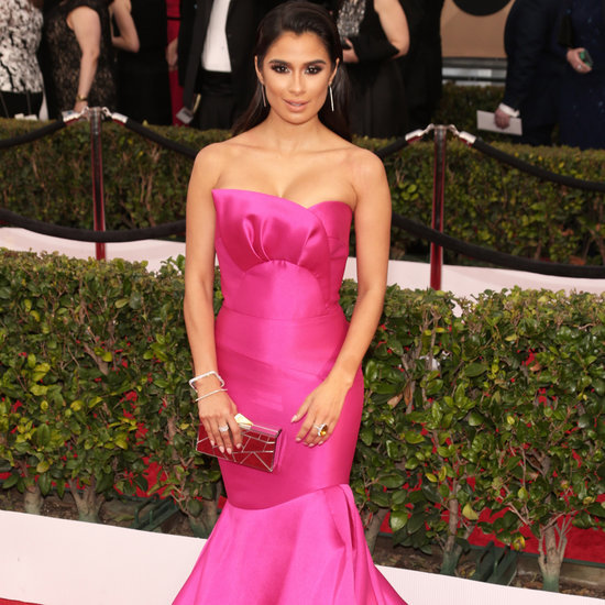 Diane Guerrero's Pink Dress at the SAG Awards 2016