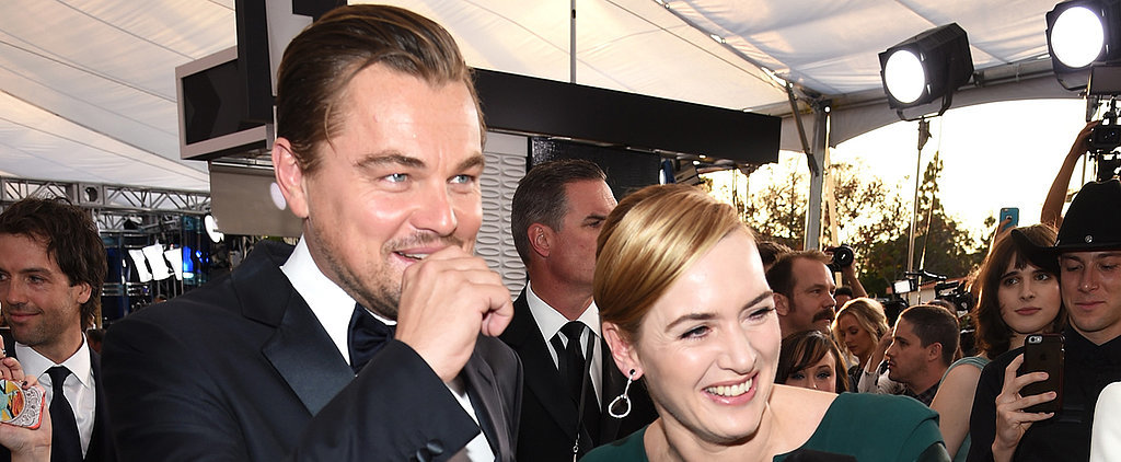 "Kate Winslet Says She's ""So Focused on Leo"" This Award Season"