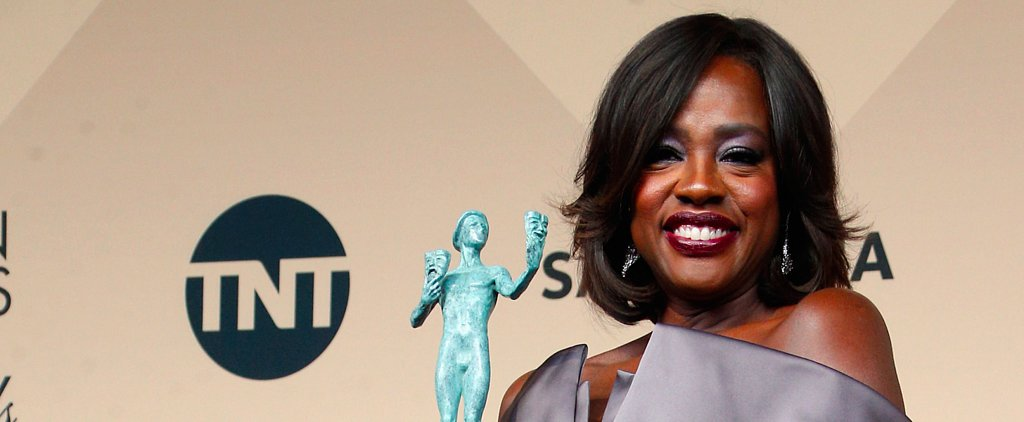 Viola Davis Says She Aims to Create Characters, Not Heroes, at the SAG Awards