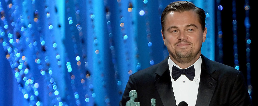 Watch Leonardo DiCaprio Win the SAG Award, Get 1 Step Closer to His Destined Oscar