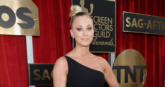 Kaley Cuoco Makes A Big Bang At The SAG Awards In A Cutout Dress
