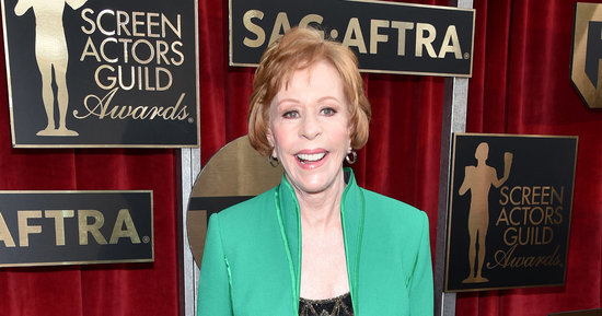 Carol Burnett Wore Uggs On The 2016 SAG Awards Red Carpet