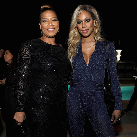 Laverne Cox's Jumpsuit Is Everything You Want in a Party Look