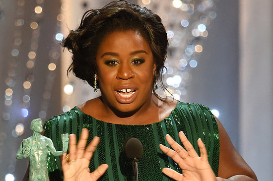 Uzo Aduba Attended The SAG Awards With The Same Guy She Went To Prom With
