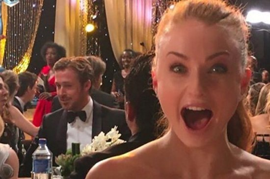 "The Girl Who Plays Sansa Stark On ""Game Of Thrones"" Has A Crush On Ryan Gosling"