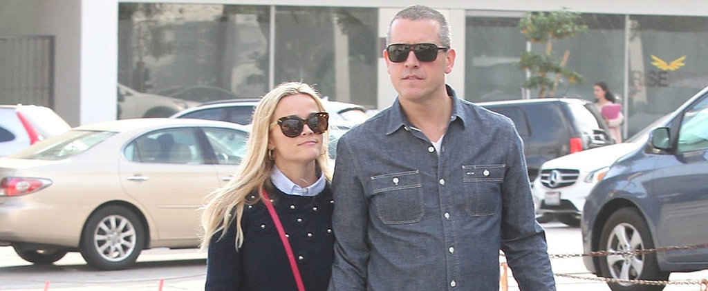 Reese Witherspoon and Jim Toth Get a Head Start on Valentine's Day With a PDA-Filled Outing