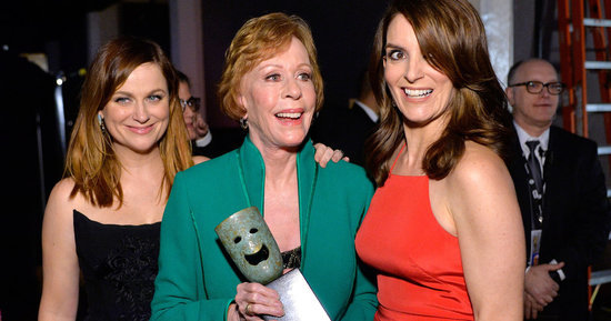 Tina Fey And Amy Poehler Honor Carol Burnett, Diss Leo DiCaprio