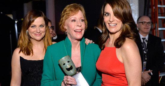 Tina Fey And Amy Poehler Honor Carol Burnett, Diss Leo DiCaprio