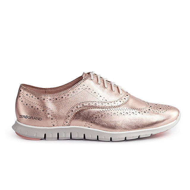 cole haan rose gold oxford 280 the 8 spring shoe. Black Bedroom Furniture Sets. Home Design Ideas