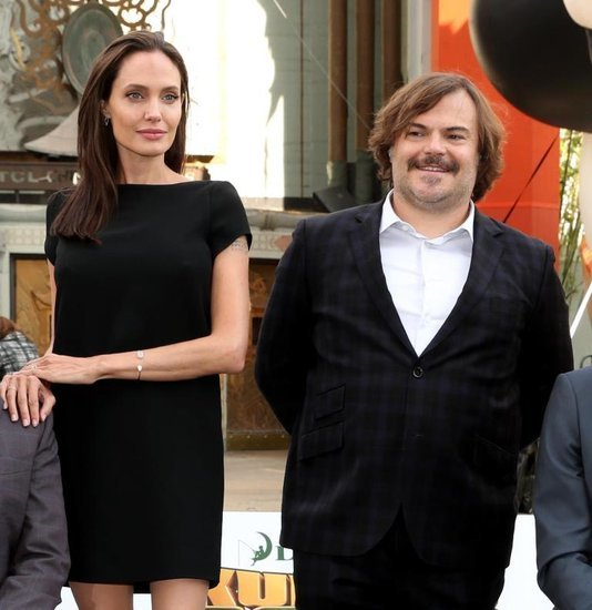 Angelina Jolie and Jack Black in Kung Fu Panda 3 movie review