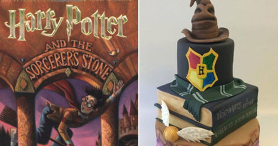 This Magical 'Harry Potter' Cake Is What Wedding Dreams Are Made Of