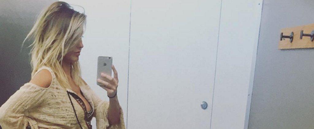 Audrina Patridge Shows Off Her Tiny Baby Bump on Instagram