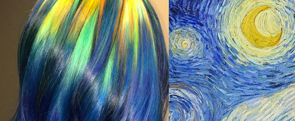 Colorist Transforms Classic Artwork Into Rainbow Hair