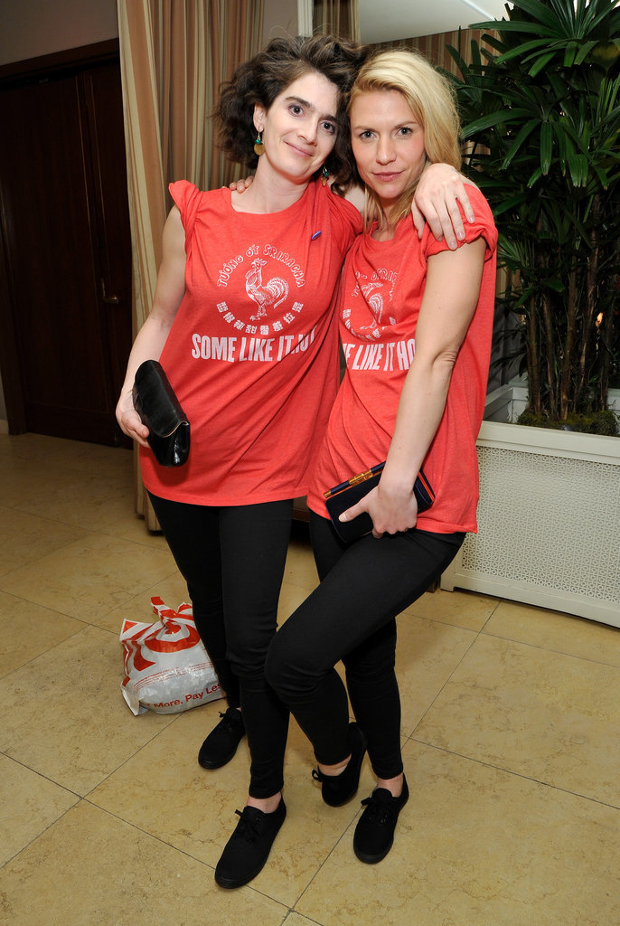 When Gaby Hoffmann and Claire Danes Wore These Red T-Shirts to the Afterparty