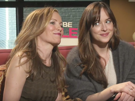 Watch How to Be Single Stars Dakota Johnson and Leslie Mann Hit on 'Hot' Reporter in Hilarious Interview