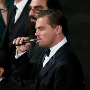 Leonardo DiCaprio Smoking and Vaping at Events