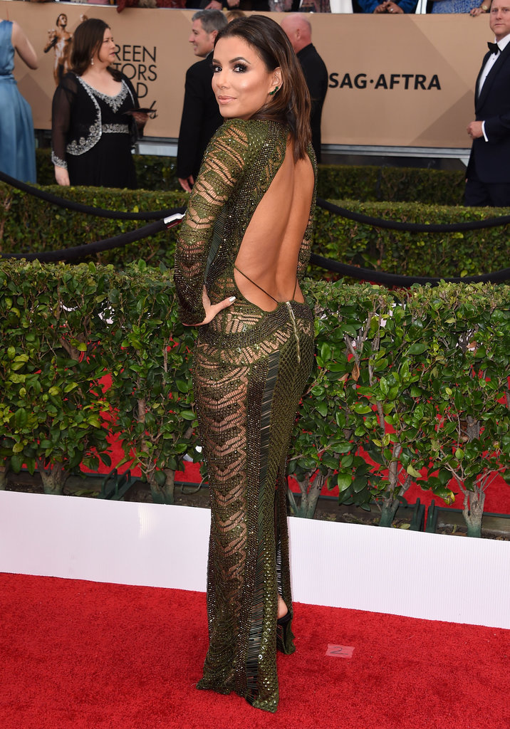 Eva Longoria at the Screen Actors Guild Awards