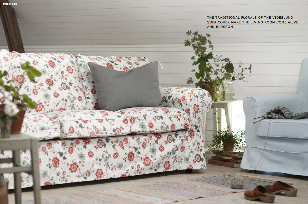 This Floral Sofa Cover 149 Can Add A Subtle Pop Of