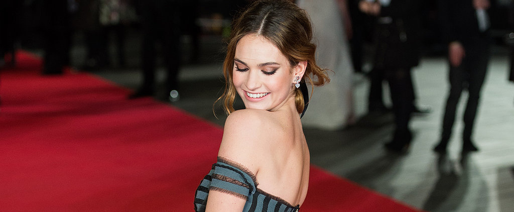 Lily James Just Threw Us For a Major Loop on the Red Carpet