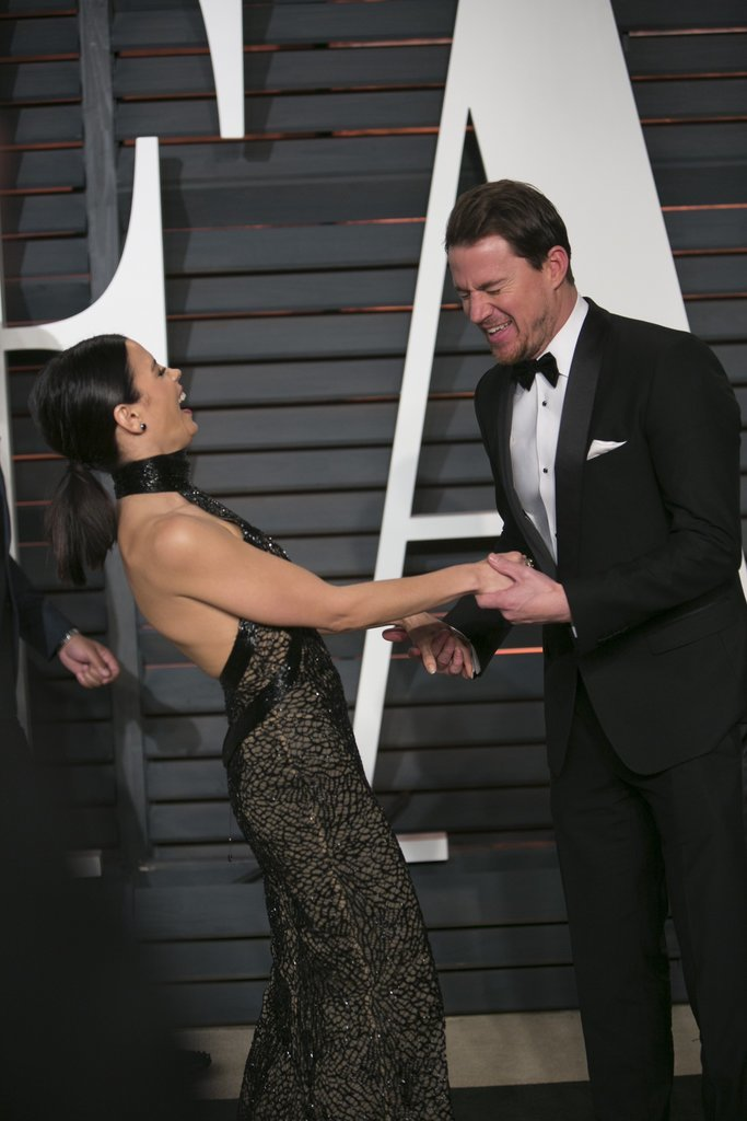 They cracked each other up at the Vanity Fair Oscars afterparty in February 2015.