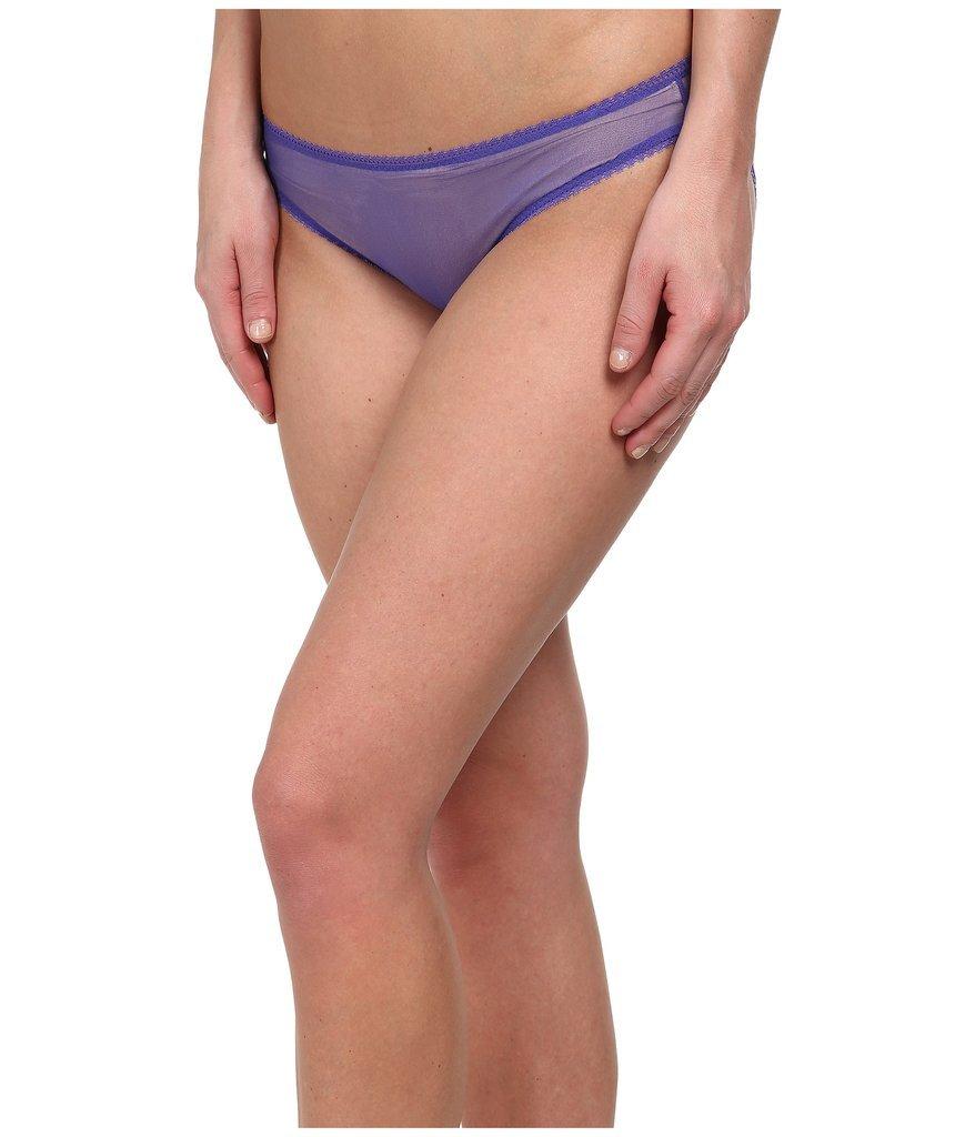 OnGossamer Solid Gossamer Mesh Hip Bikini ($16)