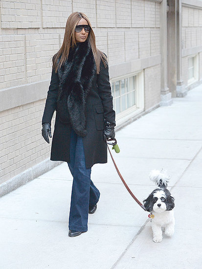 Somber Iman Makes First Appearance Since Death of Husband David Bowie as She Steps out with Dog They Raised Together