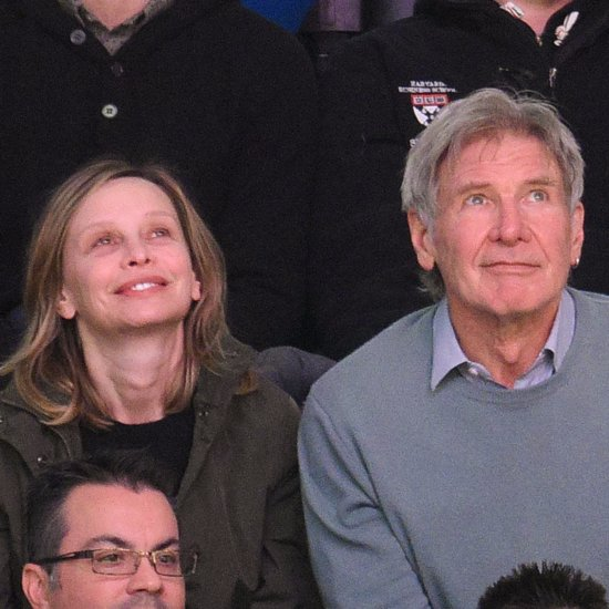 Harrison Ford and His Family at a Basketball Game in LA 2016