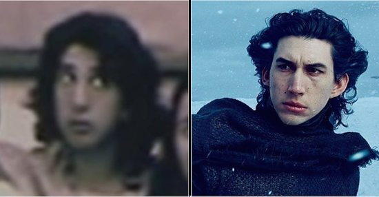 David Schwimmer Looked Exactly Like Kylo Ren When He Was Younger