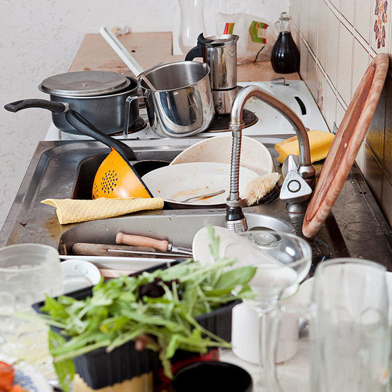 A Messy Kitchen Could Lead to Weight Gain