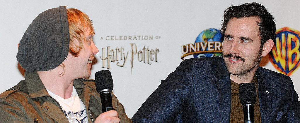 Ron and Neville's Bromance IRL Will Have Harry Potter Fans LOLing