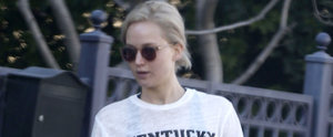 Jennifer Lawrence Delivers a Special Message With Her T-Shirt During an LA Outing