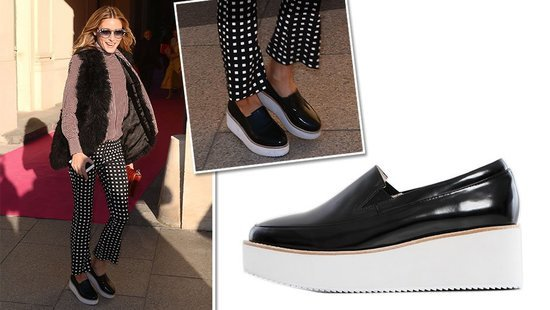 Olivia Palermo Is Showing You Exactly How To Wear Platform Sneakers–Permission To Copy