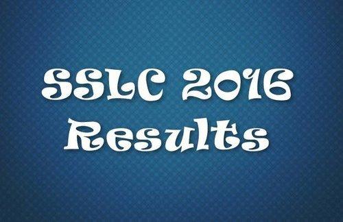 SSLC Result 2016