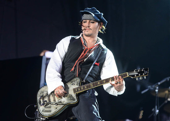 Johnny Depp to perform at the Grammys with The Hollywood Vampires