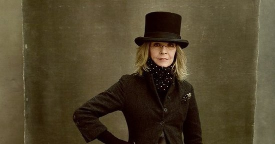 Diane Keaton Says She's Channeling Abe Lincoln on the Vanity Fair  Cover