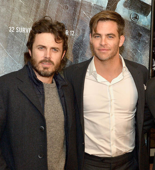 Chris Pine and Casey Affleck in The Finest Hours movie review