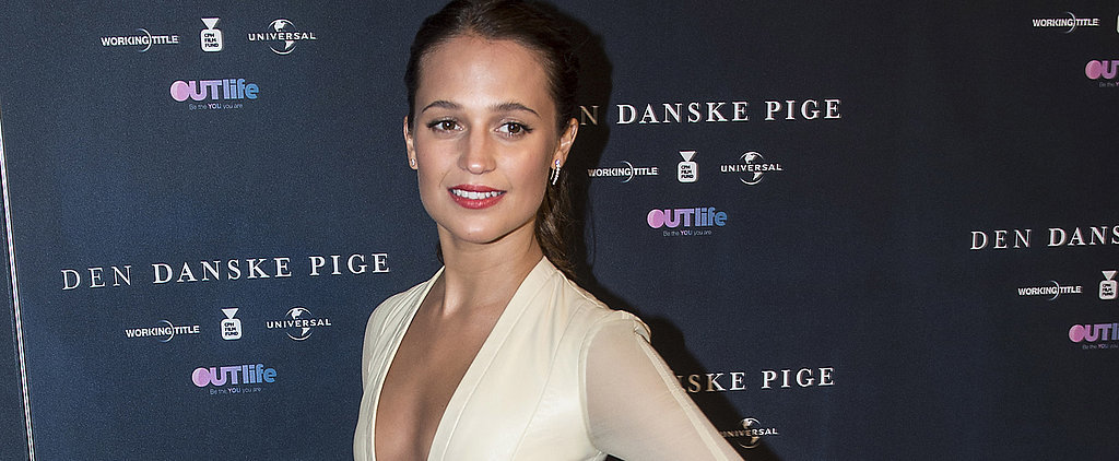 Alicia Vikander Turns a Simple Louis Vuitton Dress Into an Absolute Masterpiece