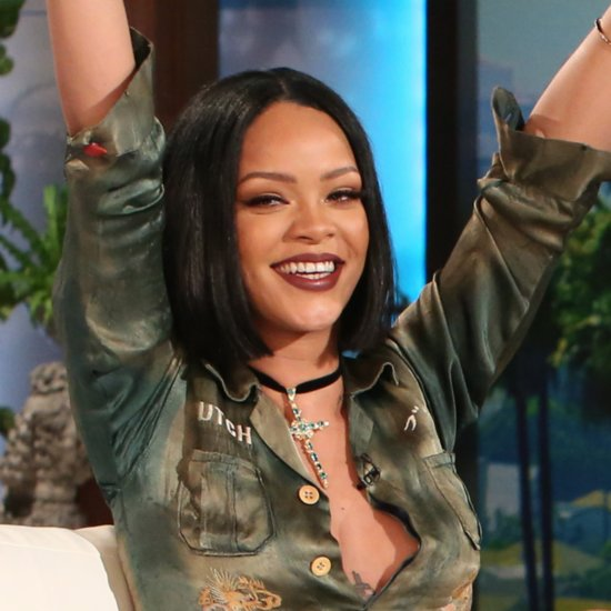 Rihanna on The Ellen DeGeneres Show February 2016