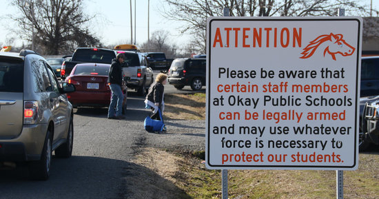 This Town Is Encouraging Teachers To Carry Guns. Here's Their Reasoning.