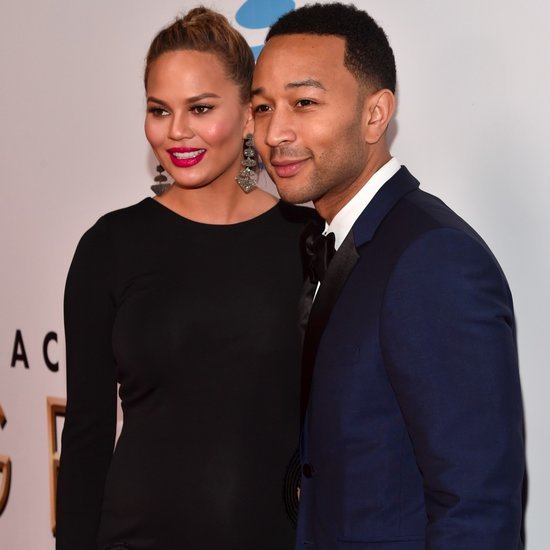 Chrissy Teigen and John Legend at NAACP Image Awards 2016