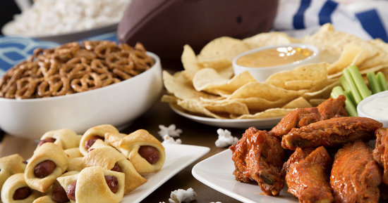 Should You Eat All The Super Bowl Food? A Handy Flowchart