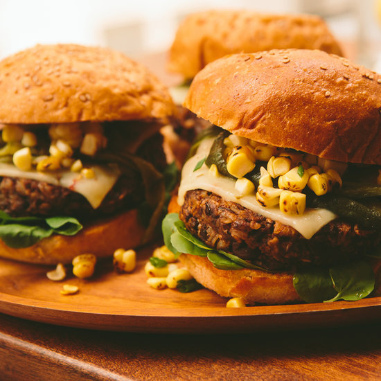 Your Vegetarian Super Bowl Party Guests Will Love You So For Introducing Them to This Black Bean Burger